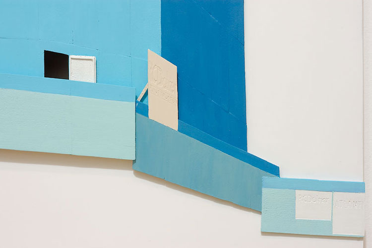 Post No Bills Blue, 2008 (detail)