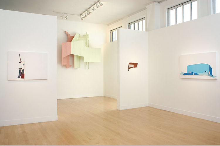 Landlord White installation view