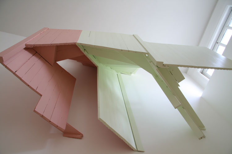 San Francisco Pink and Green, 2008 (from below)