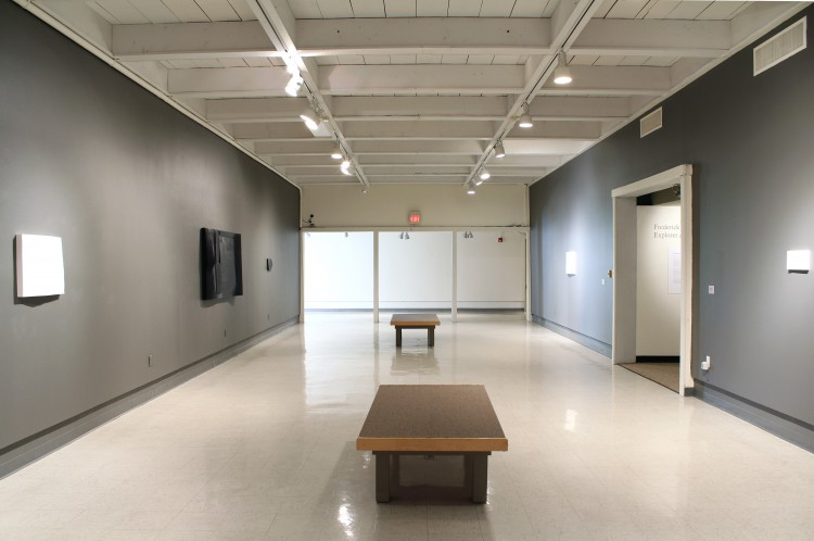 Installation view at the Roswell Museum and Art Center, 2012